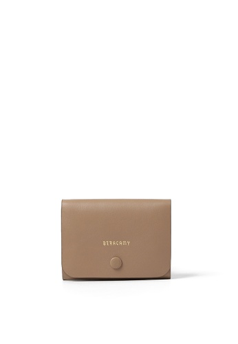 BERACAMY beige BERACAMY Card Case - Almond EE9D3AC7A5E2DEGS_1
