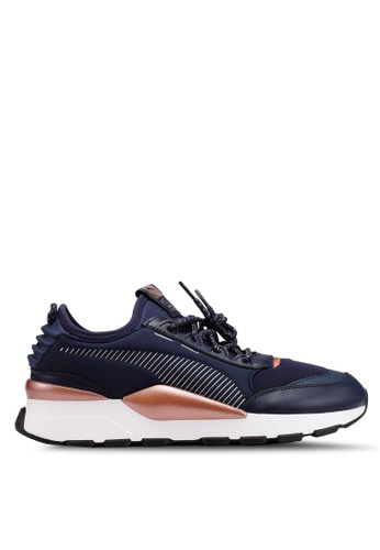 4b8dfe2ce6 PUMA navy RS-0 TROPHY Sneakers E2874SH95E9647GS 1