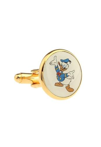 The Little Link Cufflinks gold Donald Duck cufflinks TH089AC0FT7ISG_1