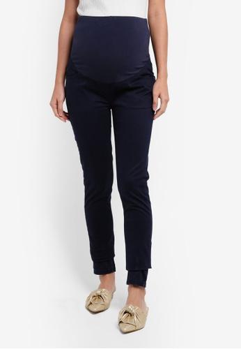 JoJo Maman Bébé navy Maternity Supersoft Skinny Jeans 7C7A9AA9B4B97EGS_1