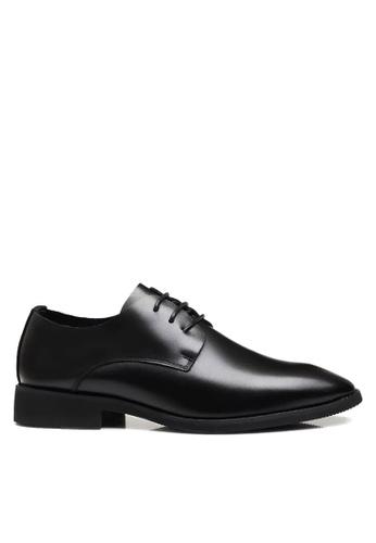 Twenty Eight Shoes 黑色 獨特的尖鞋頭商務鞋 VMF10811 89286SH18A08A2GS_1