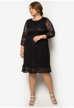 plus size dress zalora dresses
