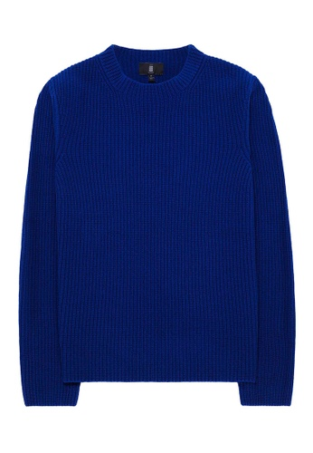 Kent and Curwen blue Kent & Curwen wool long knitwear 8A661AA9C91982GS_1