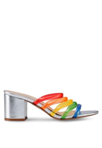 Public Desire silver Marine Heels B2584SH0790878GS_1
