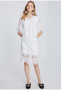 e11d1256aff Hopeshow 2-Piece Lace Dress S  68.90. Sizes S M L