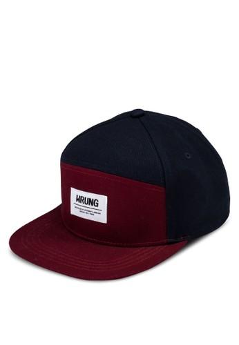 六面esprit 香港 outlet板拼接平檐帽, 飾品配件, 飾品配件