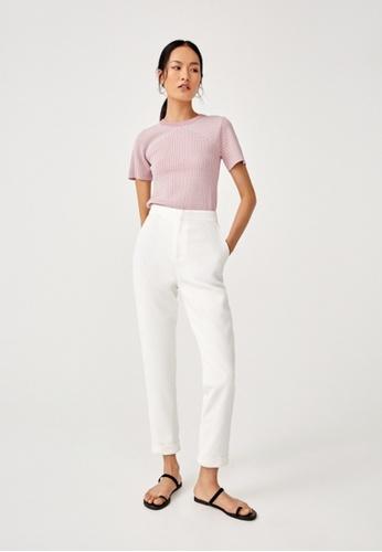 Love, Bonito pink Sheyla Knit Top 6A67FAA76B4C3EGS_1