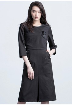 Miss Formality Slit Dress