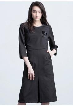 Miss Formality Slit Dress