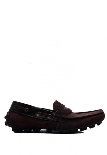 D-Island brown D-Island Shoes Moccasin Slip On Genuine Leather Brown DI594SH0VX8NID_1