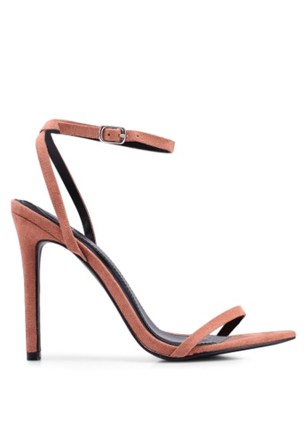 c435ecd499 Buy MISSGUIDED Pointed Toe Barely There Heels   ZALORA HK