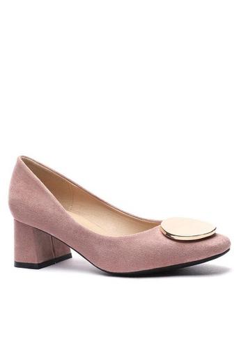 Twenty Eight Shoes Round Buckle Pumps 1270-45 71965SH9756B6BGS_1