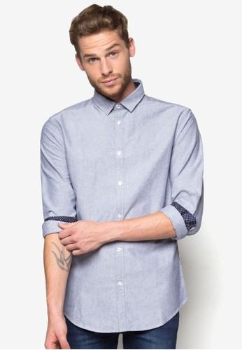 Seth esprit 內衣修身長袖襯衫, 服飾, 襯衫