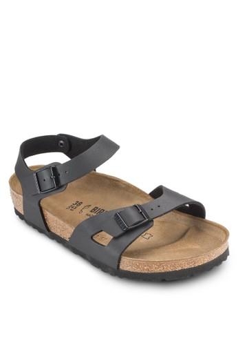 Rio 鏤空扣環繞踝涼鞋, 女鞋esprit hk store, 鞋