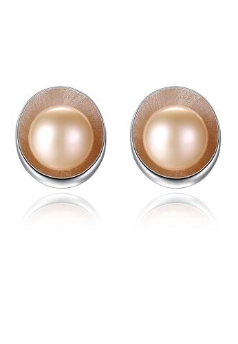 SUNRAIS silver High-grade colored stone silver fashion earrings 302B2ACF9B2626GS_1