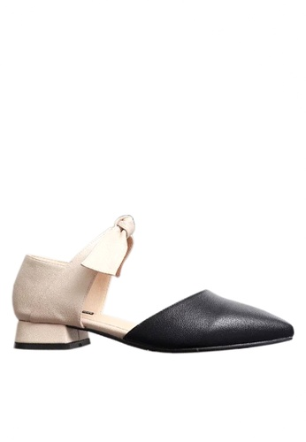 Twenty Eight Shoes black Chic Bow Low Heel Shoes VL9032 DC687SHDC4D9C0GS_1