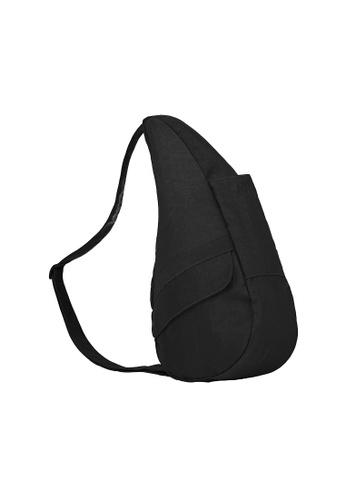 Healthy Back Bag black Healthy Back Bag Textured Nylon Black - 6L 56B9AAC398E77AGS_1