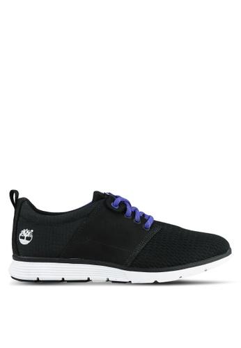 Timberland black Killington Leather And Fabric Oxford Shoes TI063SH0S69TMY_1