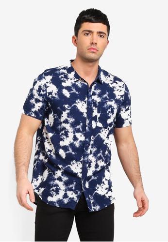 Cotton On 藍色 短袖襯衫 D88ACAAEB6FF75GS_1