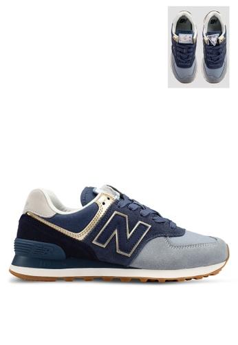 New Balance blue 574 Lifestyle Shoes C0ED4SH9FBDC96GS 1 fbd06d6f31c