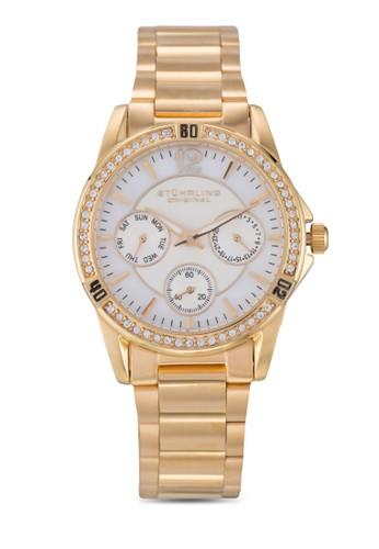 Stuhrling Original gold Marina 914.01 Watch ST251AC19ICAMY_1