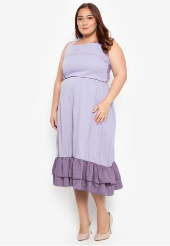 Shop Hint Plus Size Backless Dress Online On Zalora Philippines