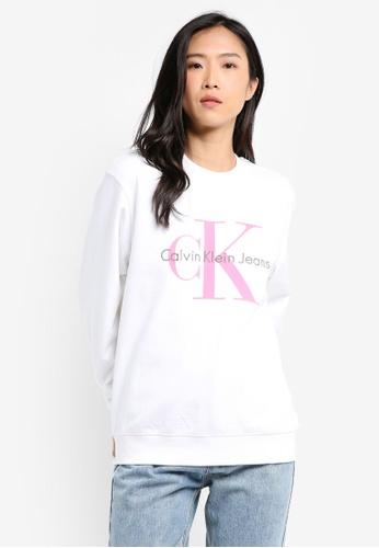a49f9e5f2e9d67 Calvin Klein multi Printed Crew Neck Sweatshirt - Calvin Klein Jeans  3B2CDAAB118AD5GS 1