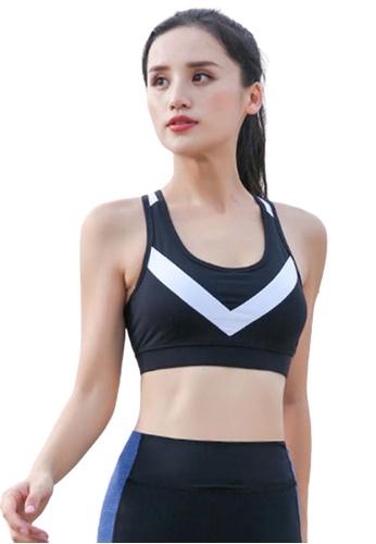 Trendyshop 黑色 貼身健身瑜伽背心胸圍 E23B6US3E1C0FFGS_1