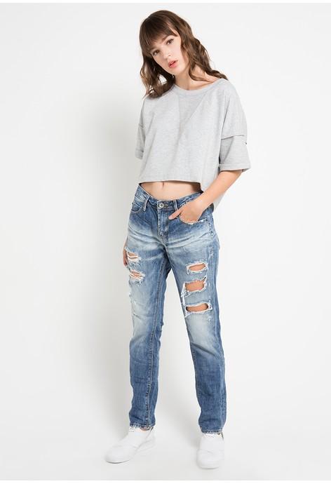 Jual Pakaian Logo Jeans Wanita Original  033198eb6f