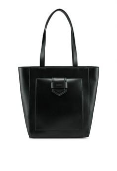 ESPRIT black Faux Leather Tote Bag 63CC7AC6EEEB68GS 1 42fe3fa722