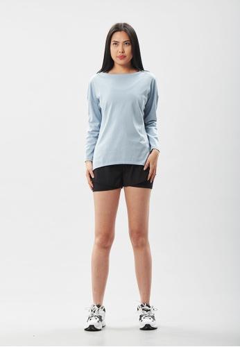 AVIVA blue AVIVA Noah Easy Wear Long Sleeve Top 61A83AAB3CB551GS_1