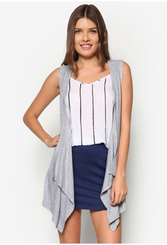 Kellie Sleeveless Cardigan