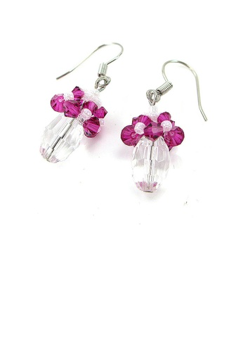 Glamorousky purple Trendy Earrings F75A6AC07886D8GS_1