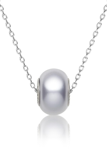 Her Jewellery purple BeCharmed Pearl Bead Pendant (Purple) - Made with premium grade crystals from Austria 0C934AC26C8A05GS_1