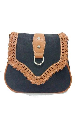 The Papillon Design blue Papillon shoulder  bag - cross body TH964AC03IQMMY_1