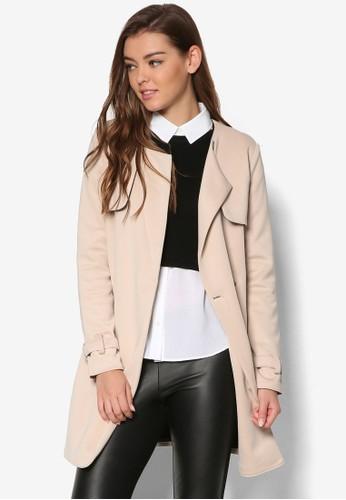 簡約布料風衣, 服飾esprit女裝, 外套