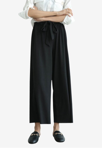 Lara black Women's Culottes F08B7AA7123564GS_1