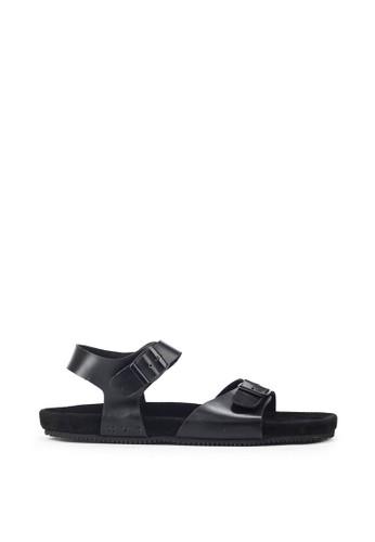Navara black Alfred Full Black EVA Sandals 01F40SHA28CFACGS_1