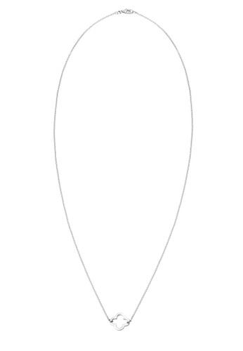 Elli Germany silver Elli Germany 925 Sterling Silver Clover Leaf Necklace EL474AC0S1YSMY_1