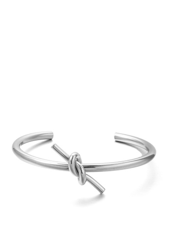 HAPPY FRIDAYS Love Knot Titanium Steel Bracelet DWS0383 5394FAC3F73A44GS_1