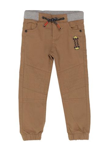 DU PAREIL AU MÊME (DPAM) brown Casual Pants 90FD8KA710E2F8GS_1