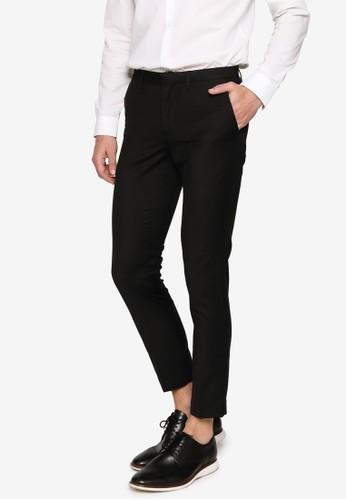 Electro Denim Lab black Formal Pants 9EEE4AA01BB6ECGS_1