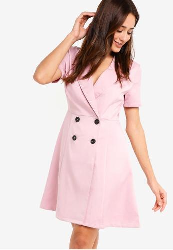 ZALORA pink Blazer Dress 18CA8AA2BFC907GS_1