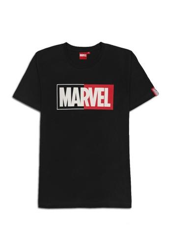 MARVEL black MARVEL Genuine Men PLUS SIZE Avengers T Shirt Black VIM20680PS 003FEAA0CB548EGS_1