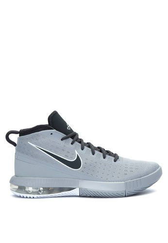 Nike grey and white Men's Nike Air Max Dominate Basketball Shoes  NI126SH0JNQ2PH_1