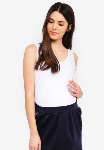 Envie De Fraise white Maternity Debardeurcoton Top 6AA32AAEB5130BGS_1