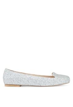 28ef091b4605 OCEEDEE silver Mary Ballerina Flats 8636BSH7459088GS 1