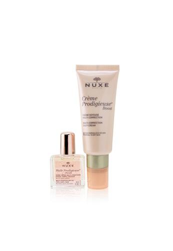 NUXE NUXE - Nuxe Gift Set: Creme Prodigieuse Boost Multi-Correction Silky Cream 40ml + Huile Prodigieuse Florale Multi-Purpose Dry Oil 10ml 2pcs 40DFCBEDB72861GS_1
