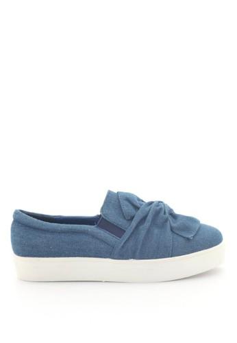MINKA blue Starc Denim Slip On MI006SH08FTZID_1