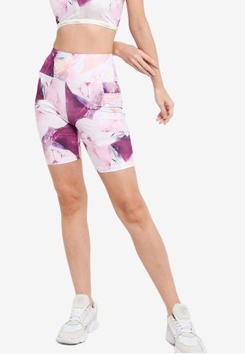 ZALORA ACTIVE pink High Rise Bike Shorts BB510AA8F73B35GS_1